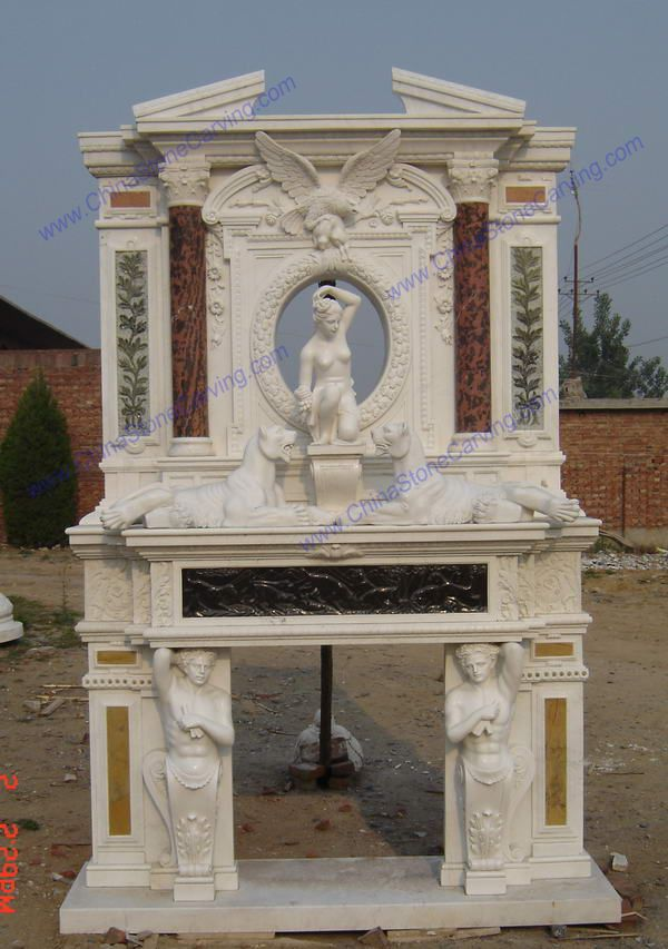 Marble over mantel,             ,             ,                              ,