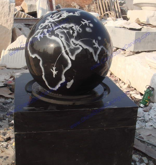 granite ball fountain,               ,               ,               ,